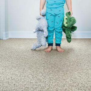Child on grey Carpet | Price Flooring