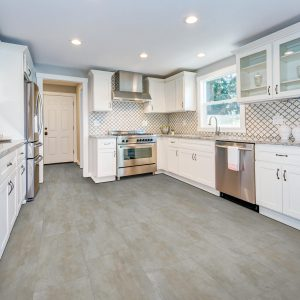 White kitchen cabinets | Price Flooring