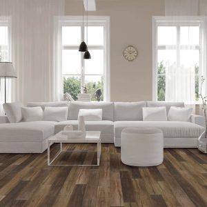 Vinyl flooring in living room | Price Flooring