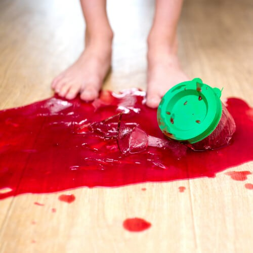 Stain on hardwood floor   Price Flooring