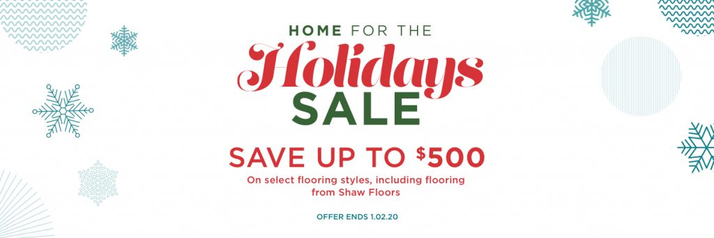 Home for the holidays sale | Price Flooring
