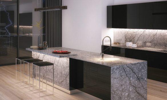 Thunder grey countertops | Price Flooring