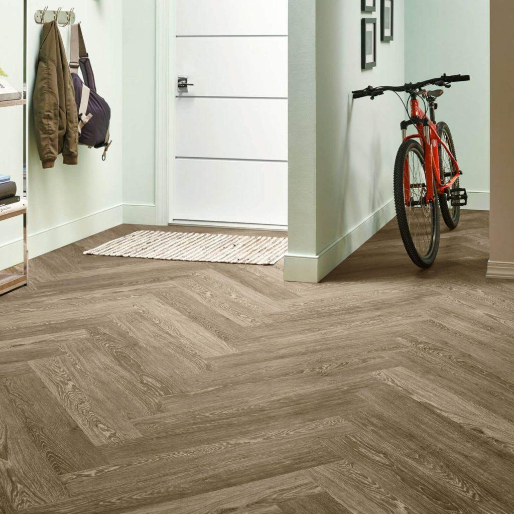 Bicycle on flooring | Price Flooring