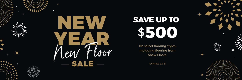 New Year New Floors Sale   Price Flooring